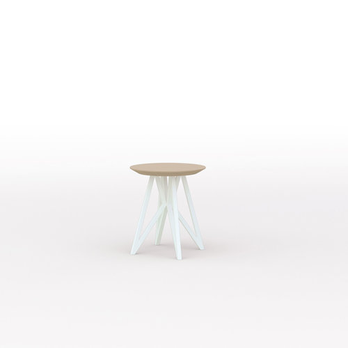 Design salontafel | Butterfly Quadpod Coffee Table White | Oak hardwax oil natural light 3041 | Studio HENK | Listing_image