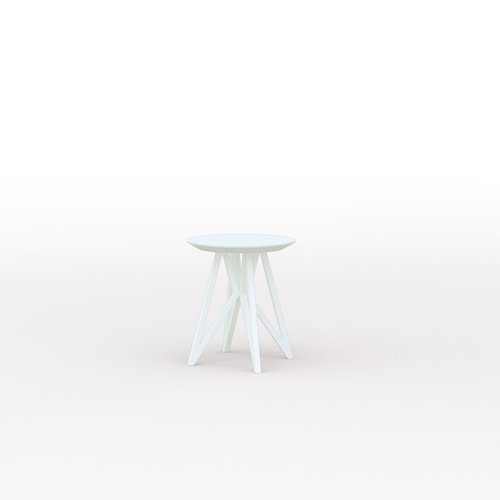 Design salontafel | Butterfly Quadpod Coffee Table White | Oak white lacquer | Studio HENK | Listing_image